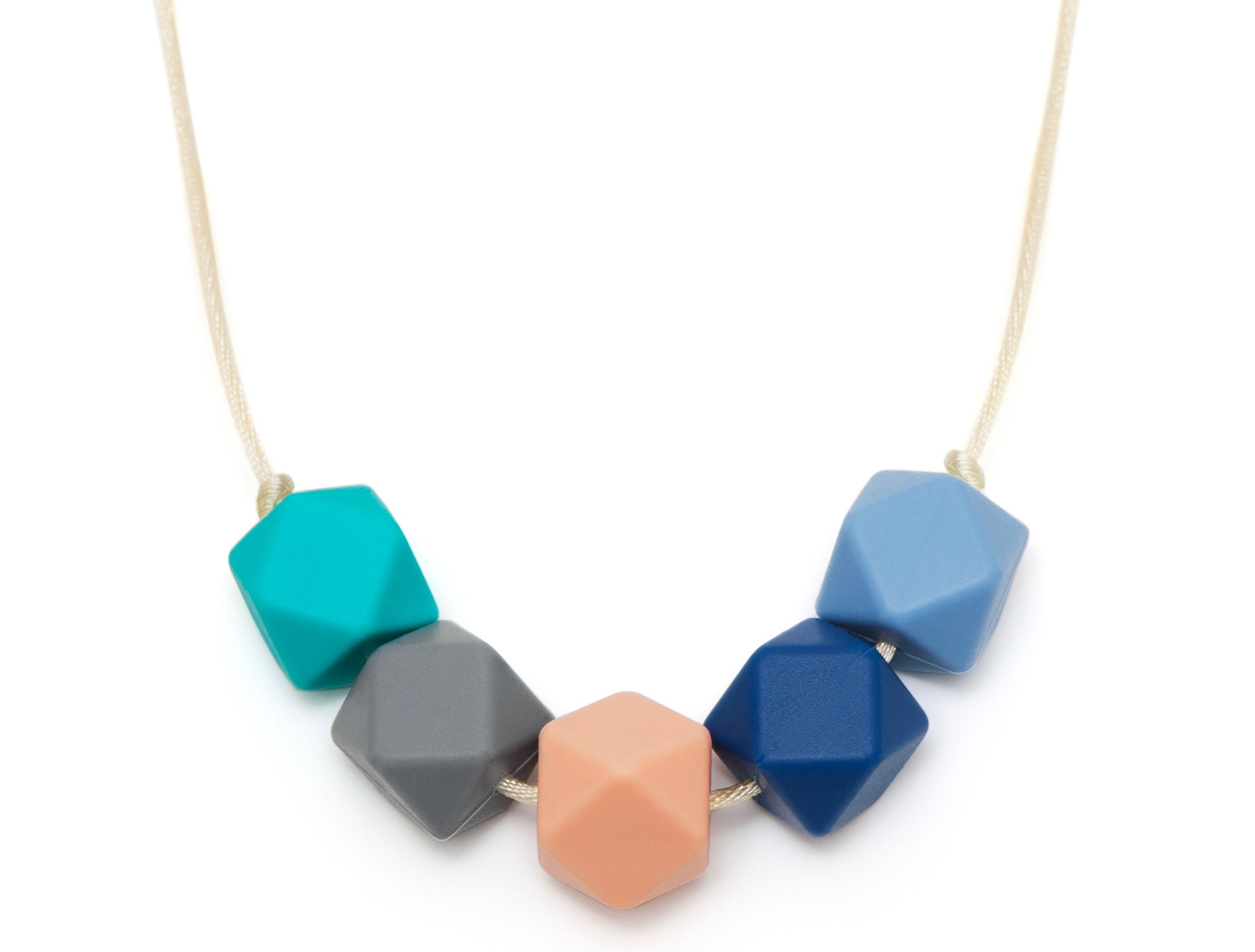 Lara and Ollie teething necklace.
