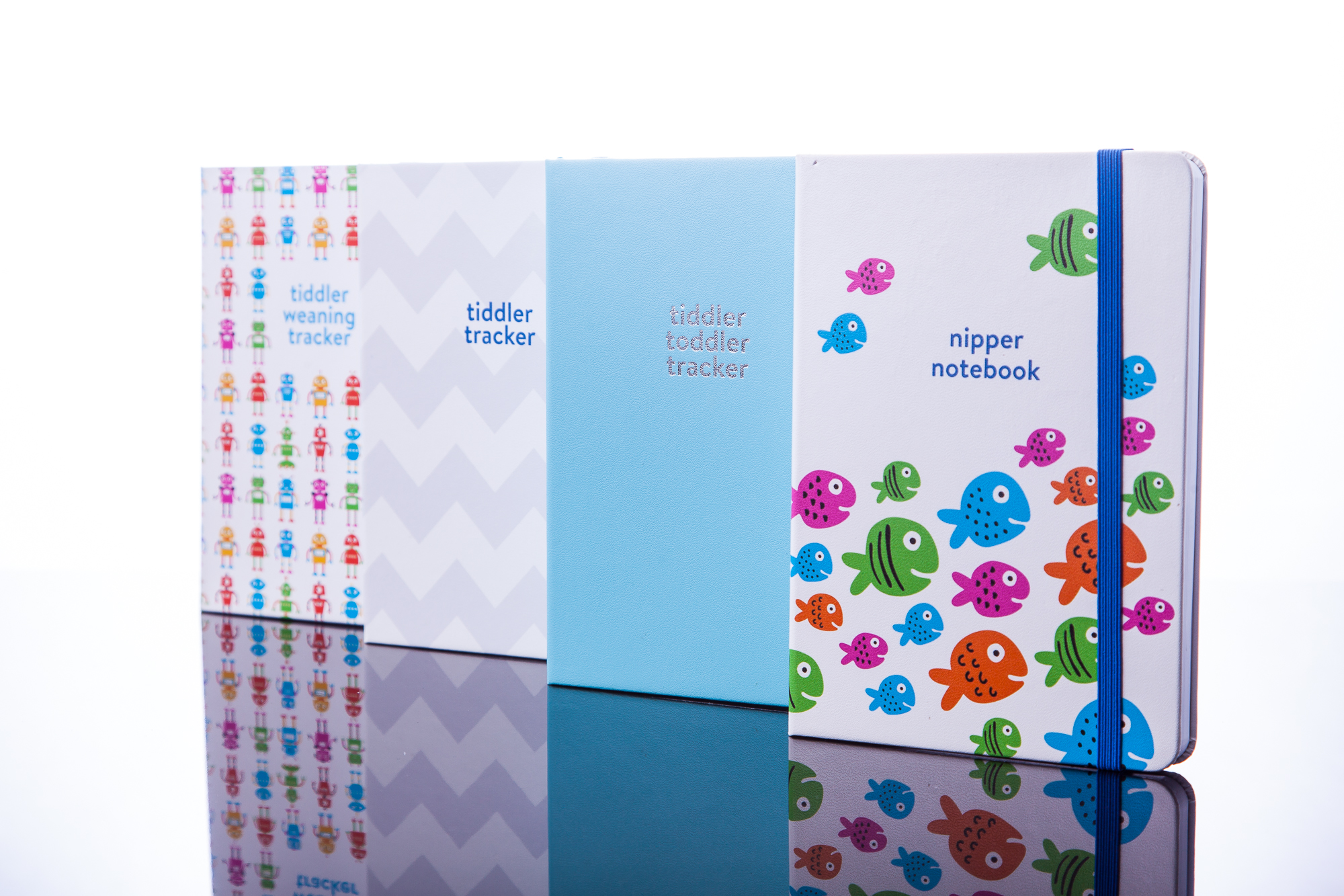 Tiddlers and Nippers baby tracking journals