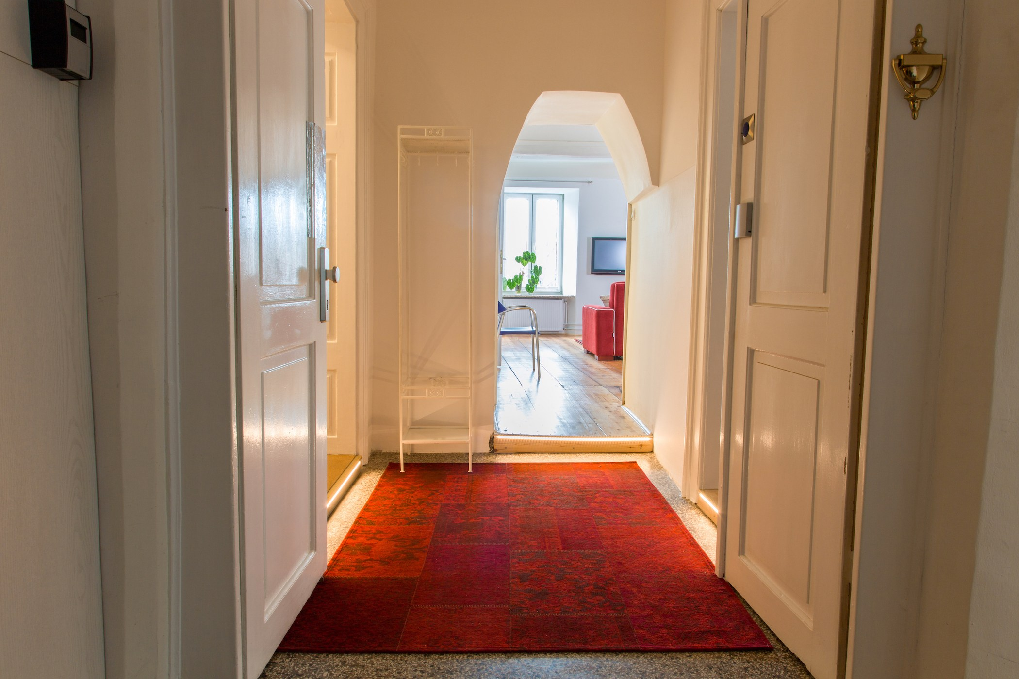 Airbnb Ljubljana appartment hall