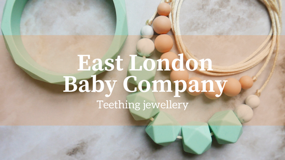 East London Baby Company teething jewellery