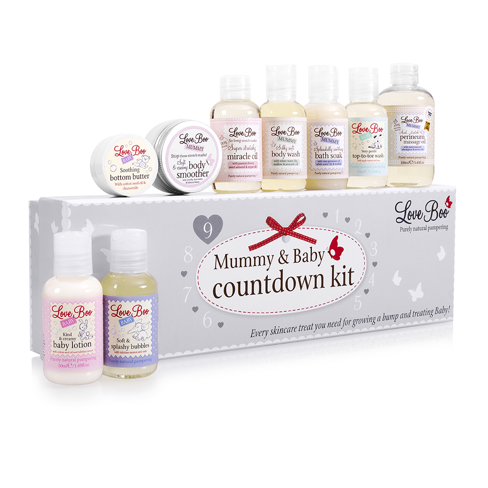 Love Boo countdown kit, exclusive to John Lewis, £60