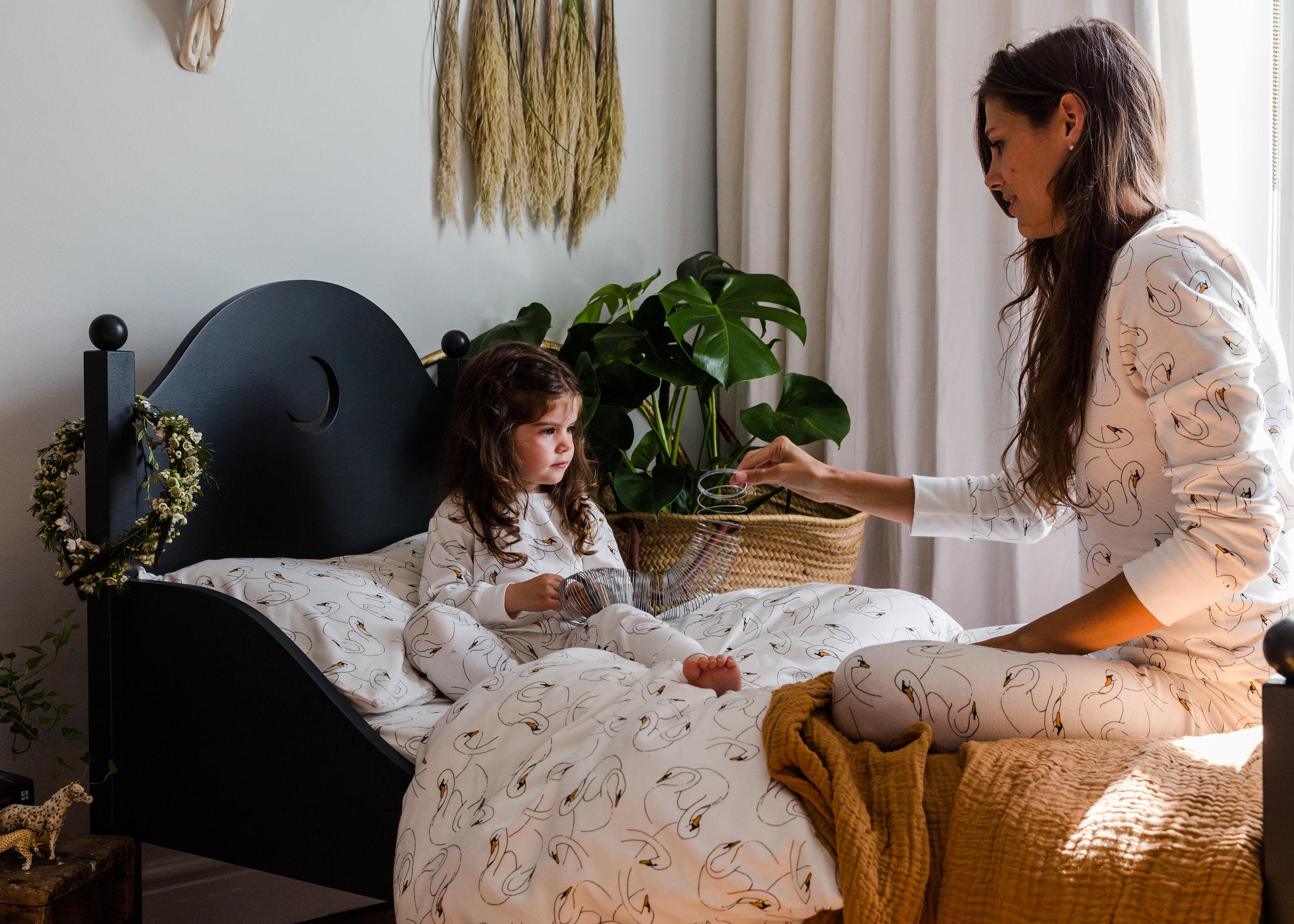 Beyond the Stork kids and mama pyjamas