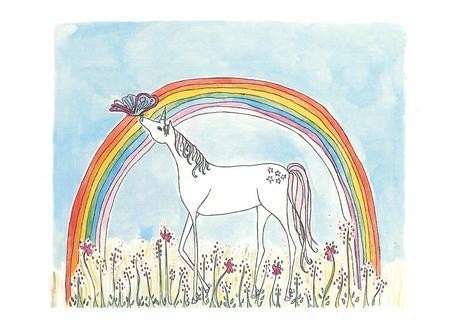 Sarah Lovell Unicorn print