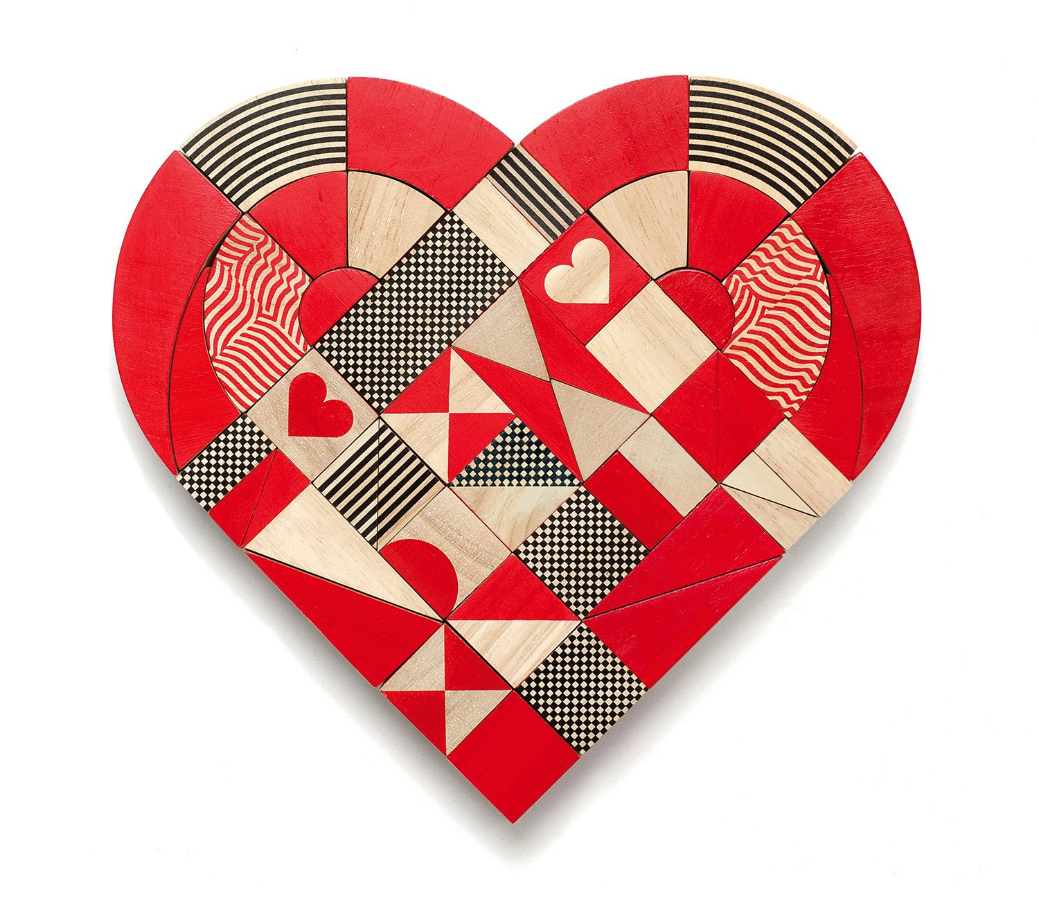 Heart puzzle, £44 Olive Loves Alfie