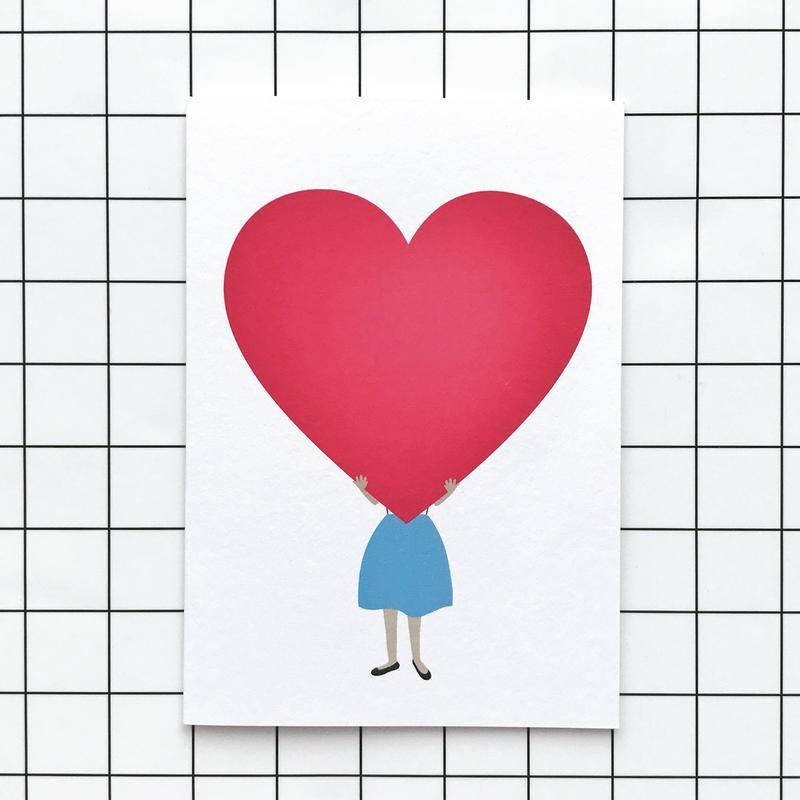 Card, £1.00 Lobella Loves