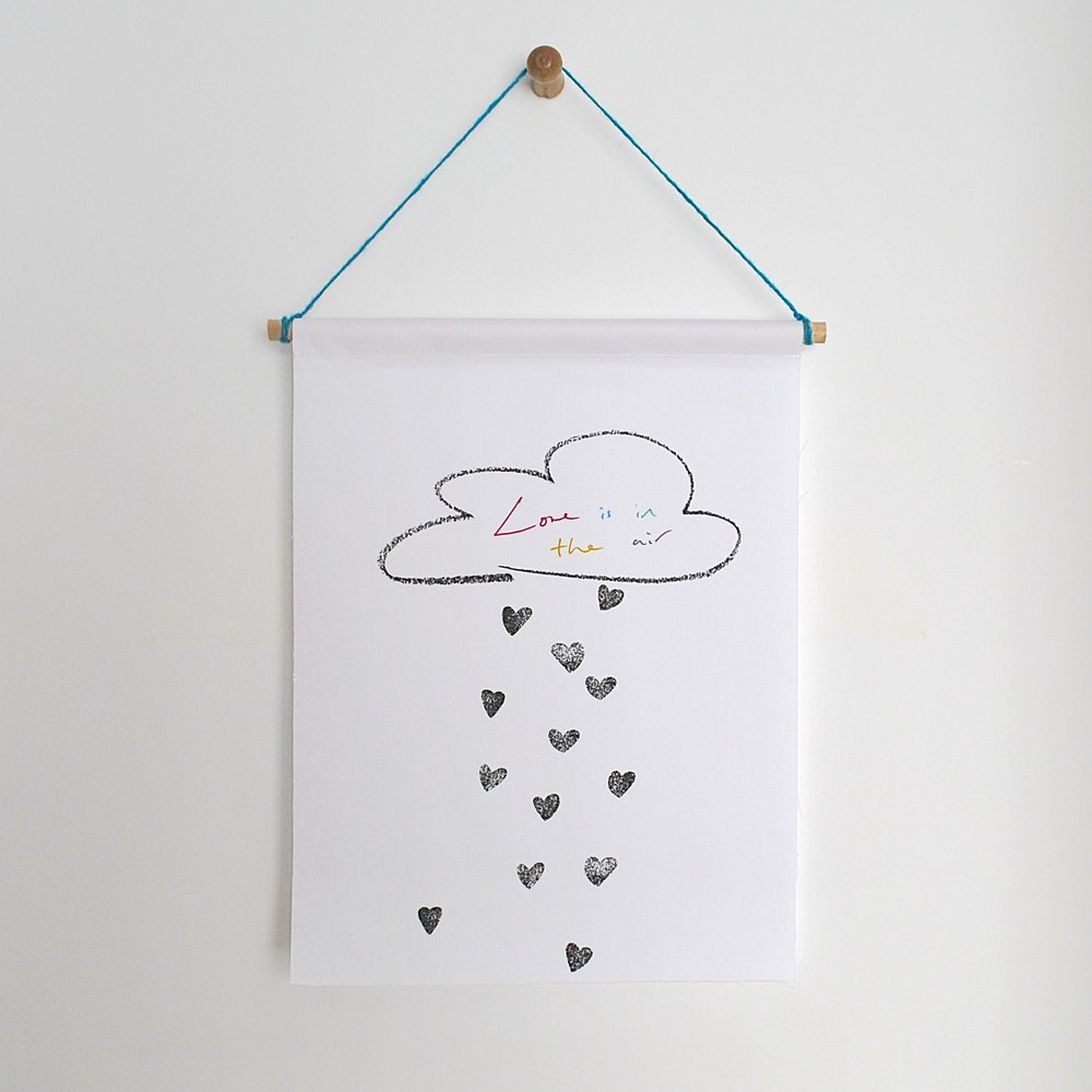 Love is in the Air print, £20 Little Carousel