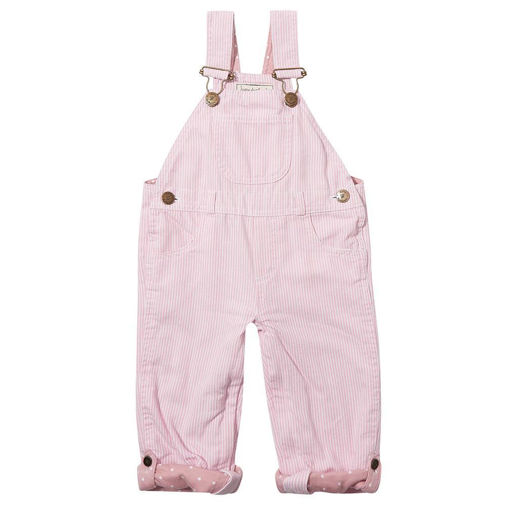 Pink dungarees, £40 Dotty Dungarees