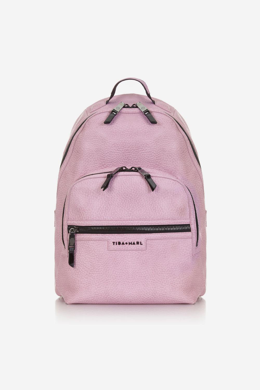 Pink changing bag, £130 Tiba and Marl