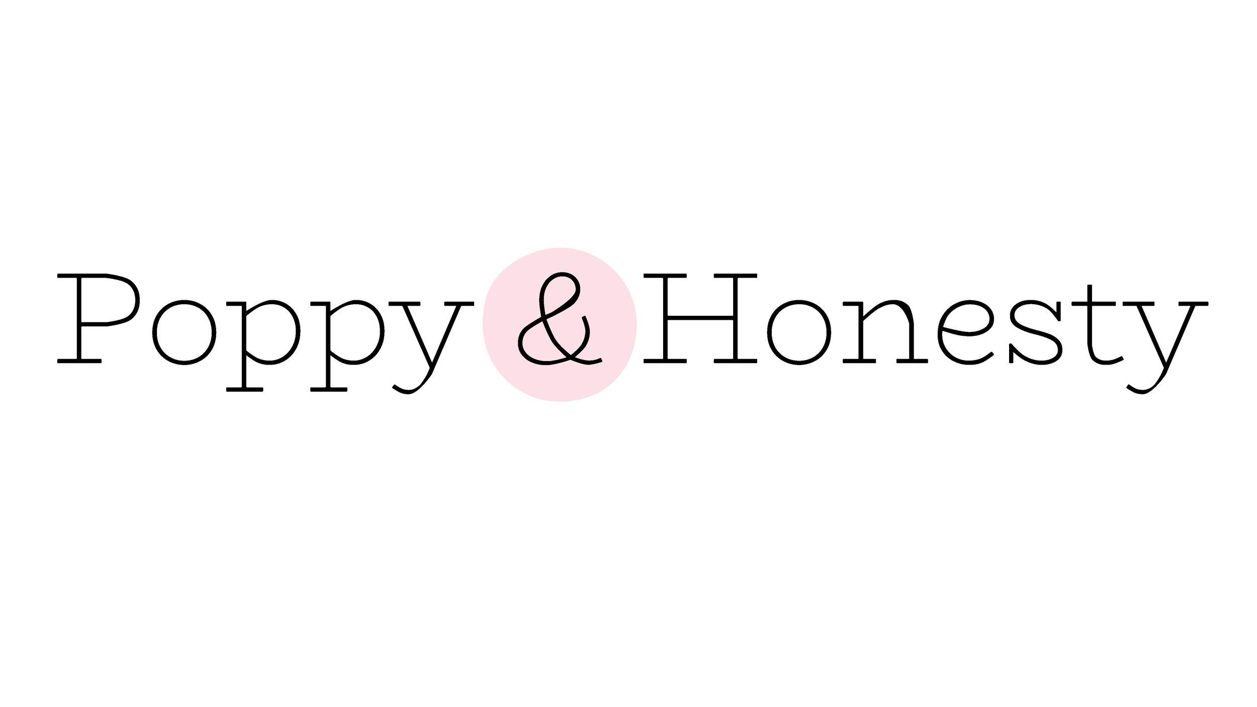 poppy and honesty logo
