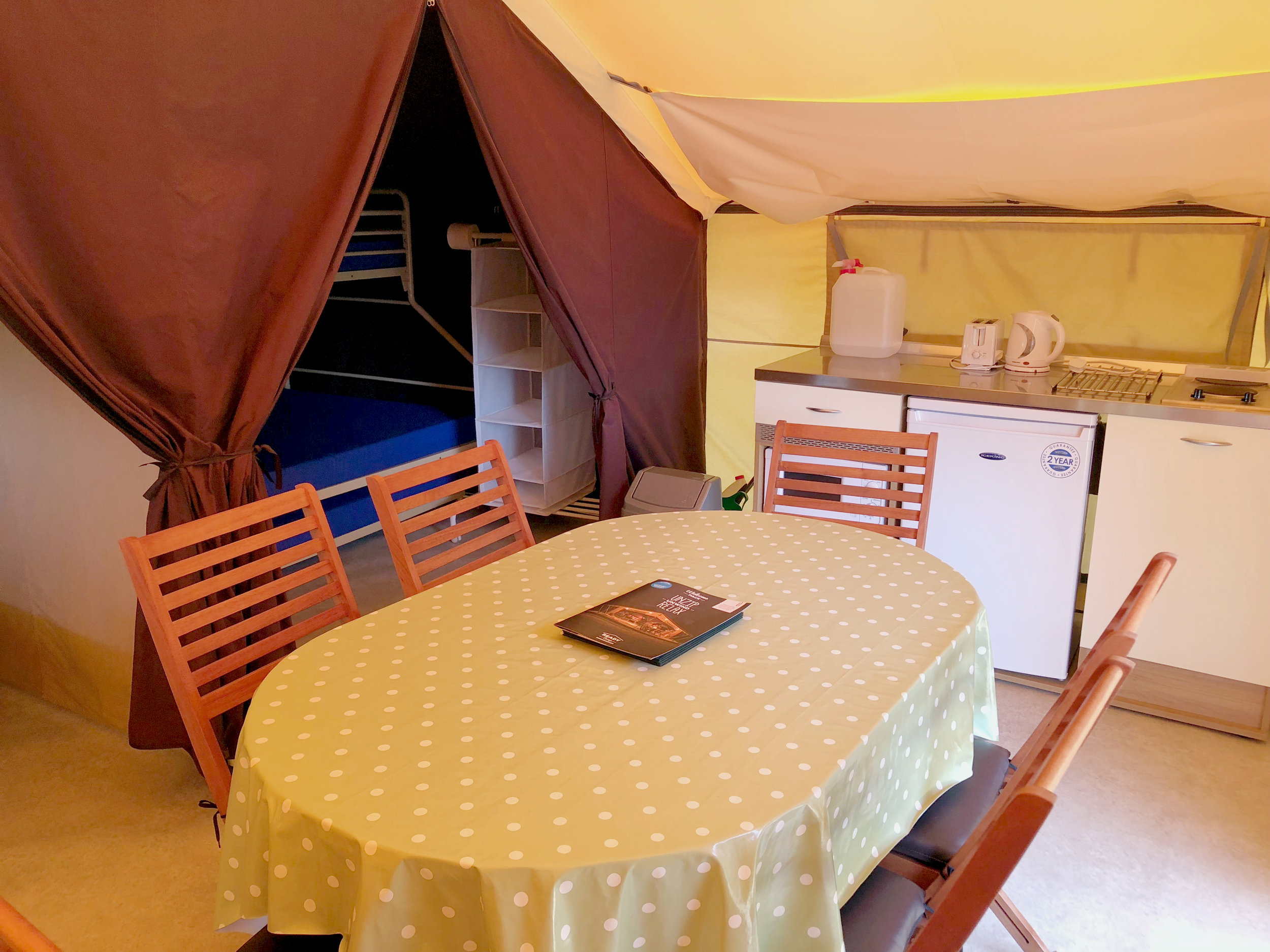 Ready Camp kitchen area
