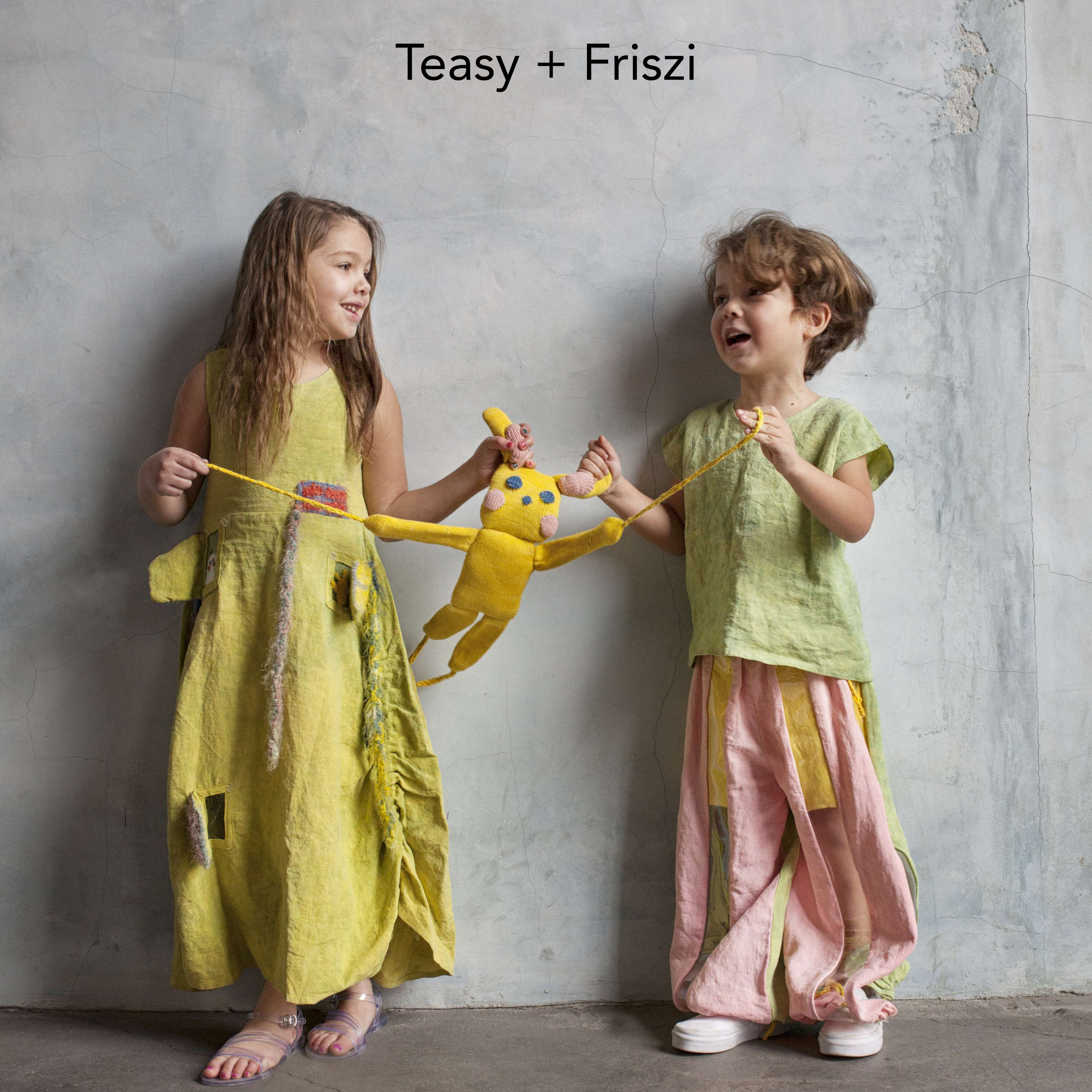 Teasy & Friszi interactive handmade collection