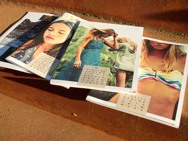 O'neil catalogs. Helped design and produce four catalogs.