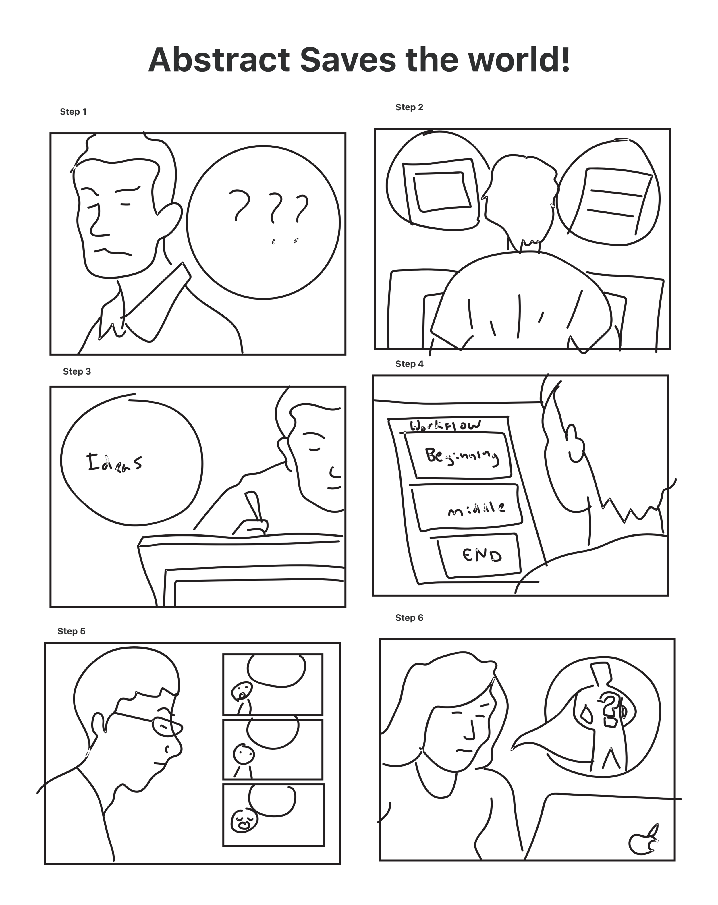 abstract comicstrip concept by alimofun