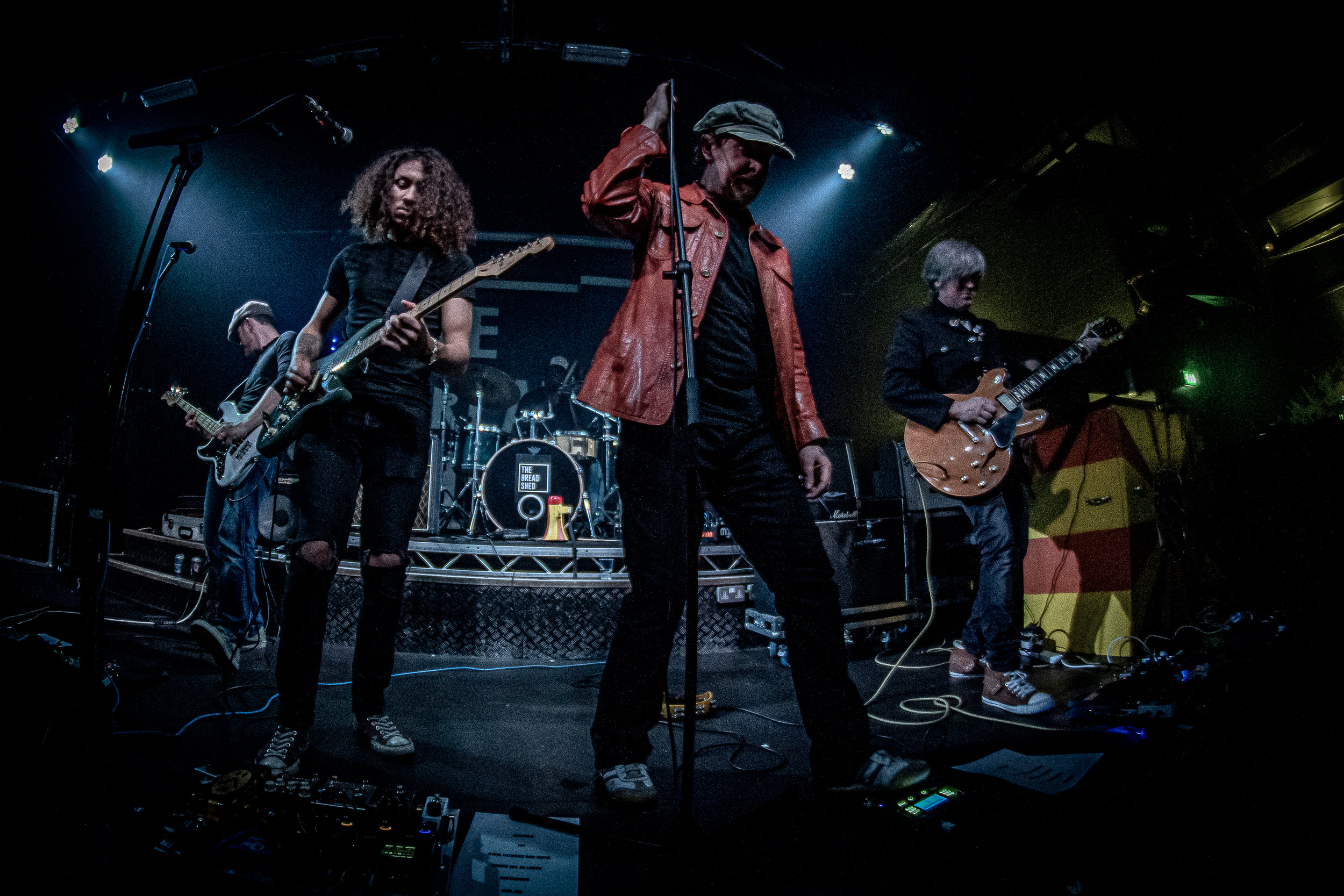 The SWJ Group  - live at The Bread Shed, Manchester for Bird on a Wire 19/05/19