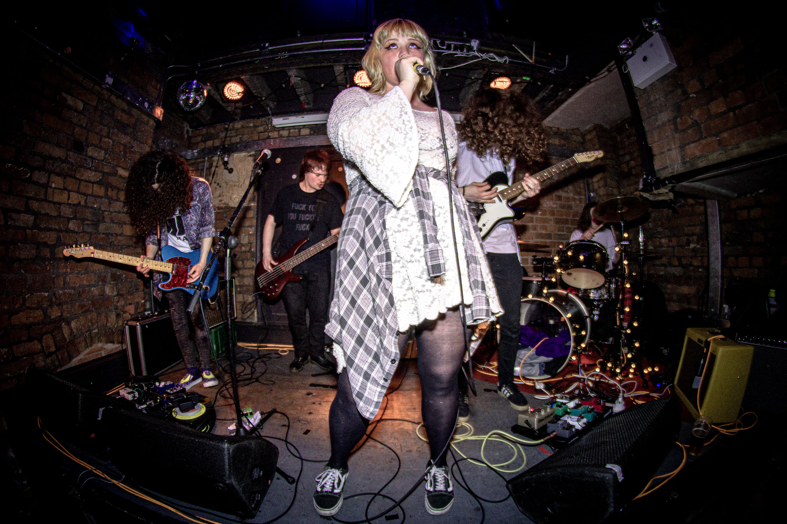 Gen & The Degenerates  - live at The Eagle Inn, Salford 01/06/19