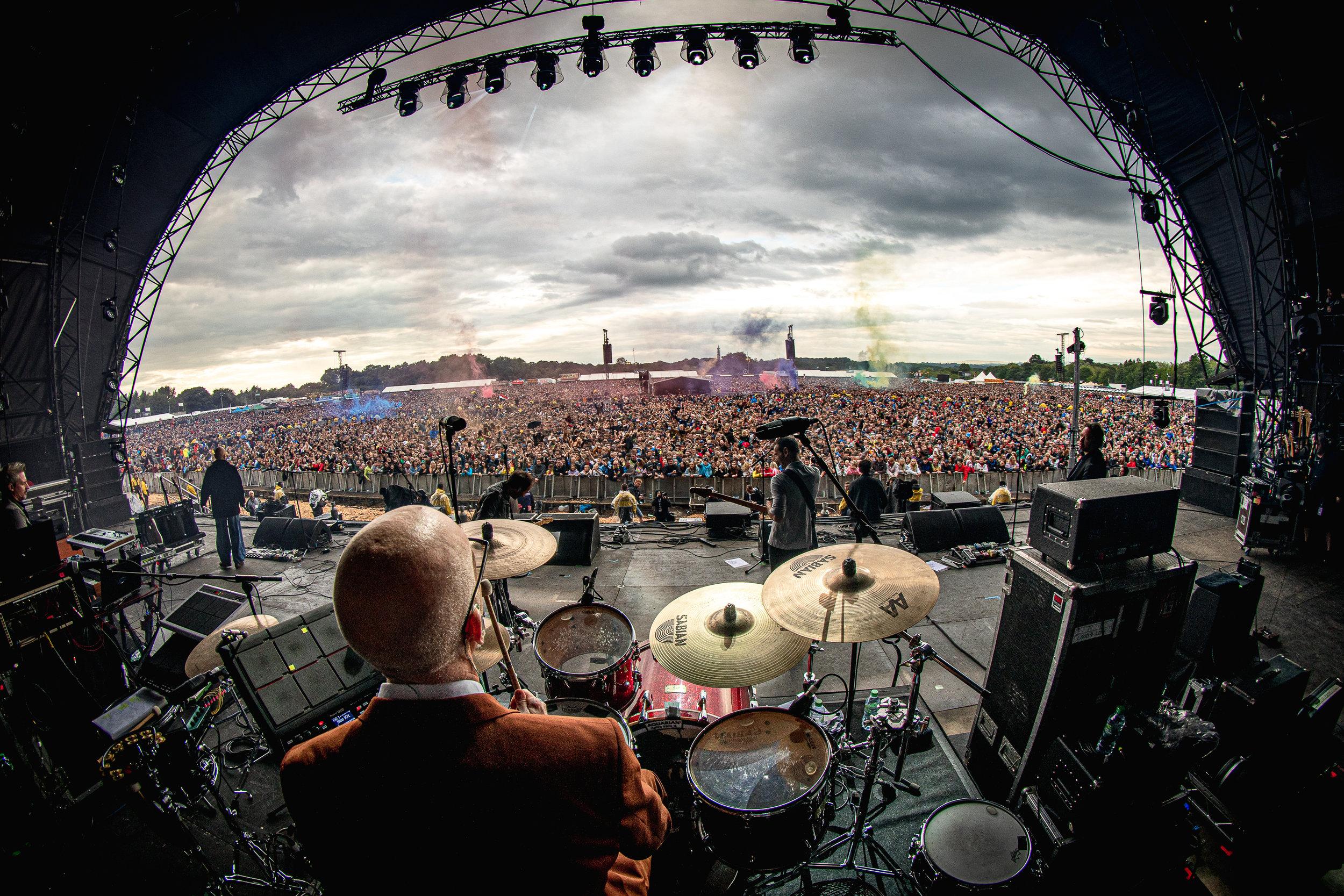 James  - live at Heaton Park, Manchester 15/06/19