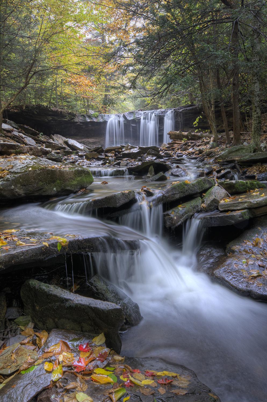 Ricketts Glen Waterfall 3