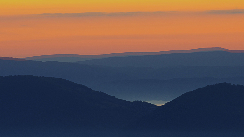 Allegheny Mountain Sunrise