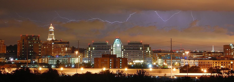 Lightning Over Alexandria