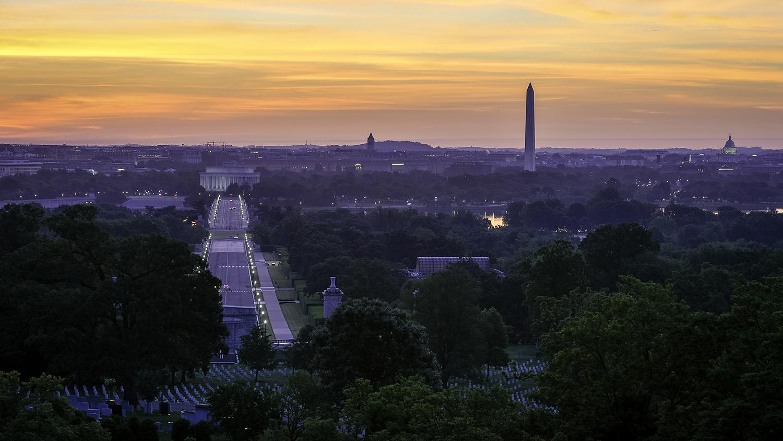 Arlington Cemetery Sunrise