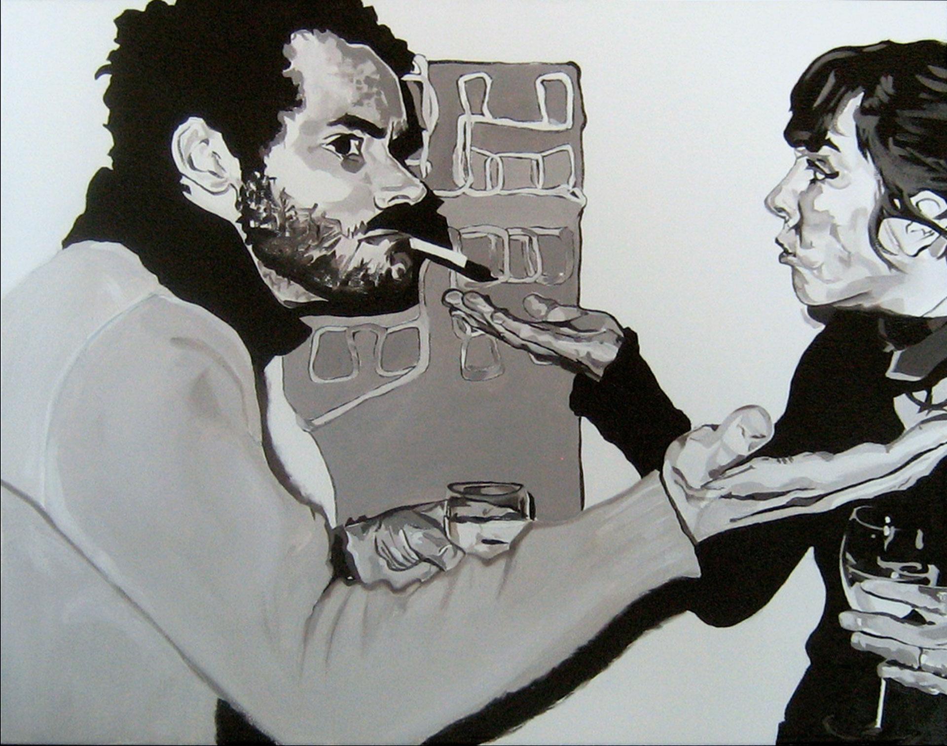 "Philadelphia 1, oil on canvas, 16"" x 20"",2013"