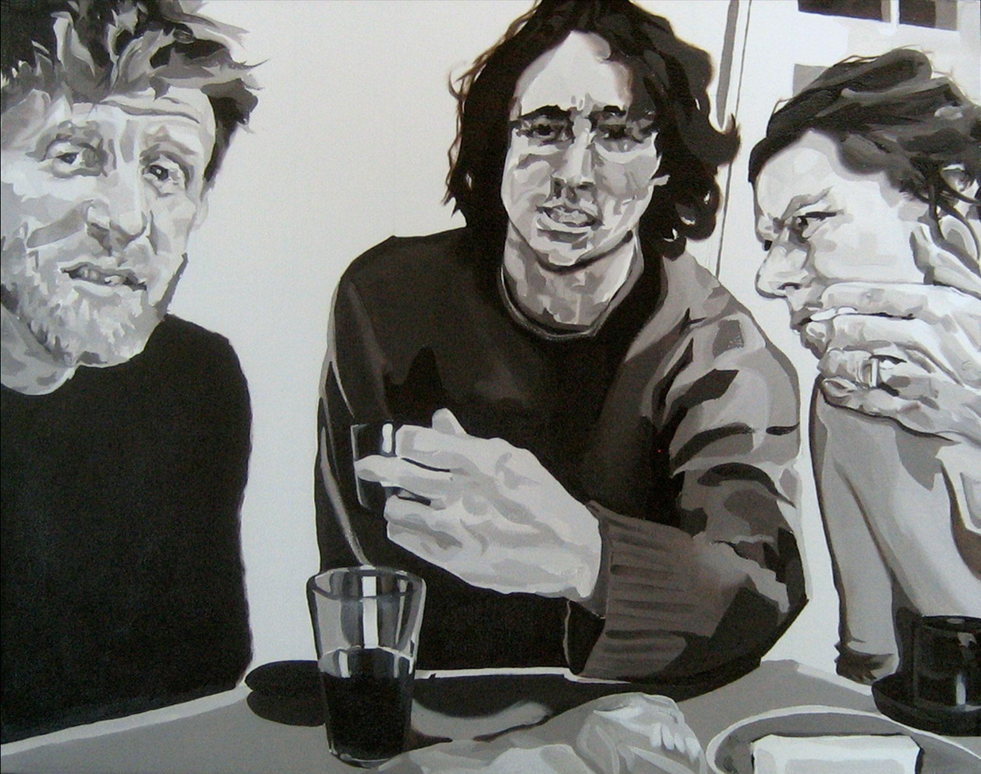 "Cambridge 1, oil on canvas, 16"" x 20"", 2012"