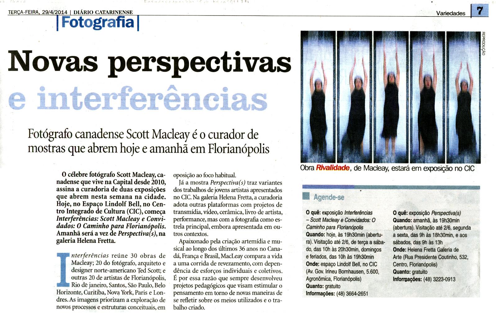 Diário Catarinense 29/04/14