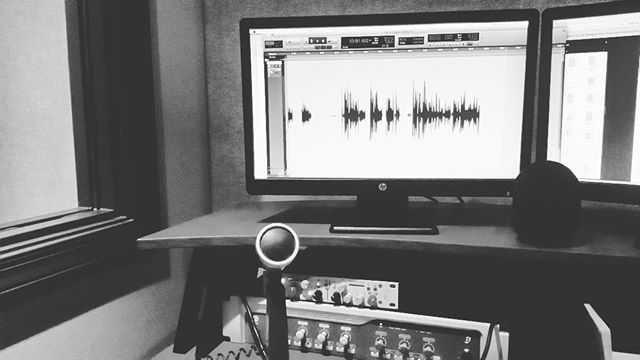 Recording! #audio #soundeffects #protools #recording #sounddesign #sounddesigner #art #postproduction #film #animation #app #gamesound #video #art #musicproducer #creative