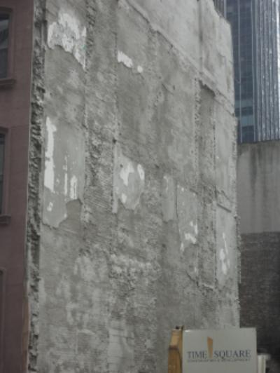 Layers of texture, lower Manhattan