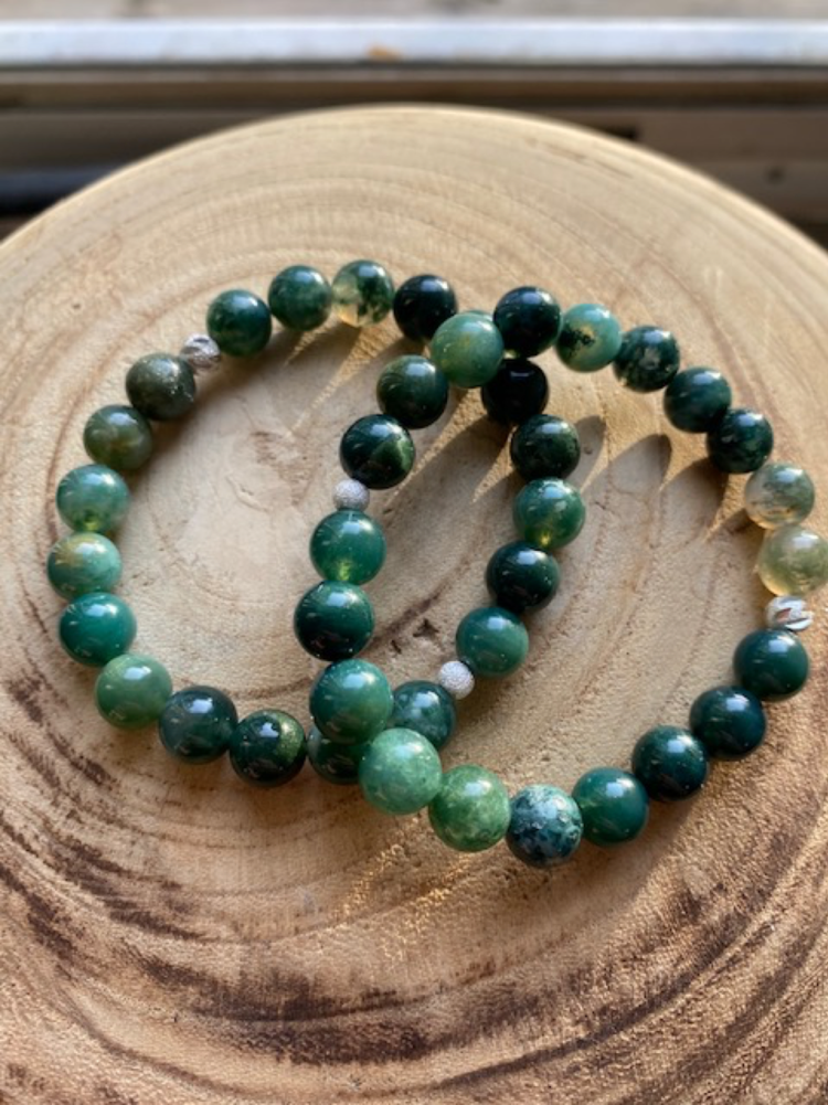 Moss Agate Encourages Trust And Hope