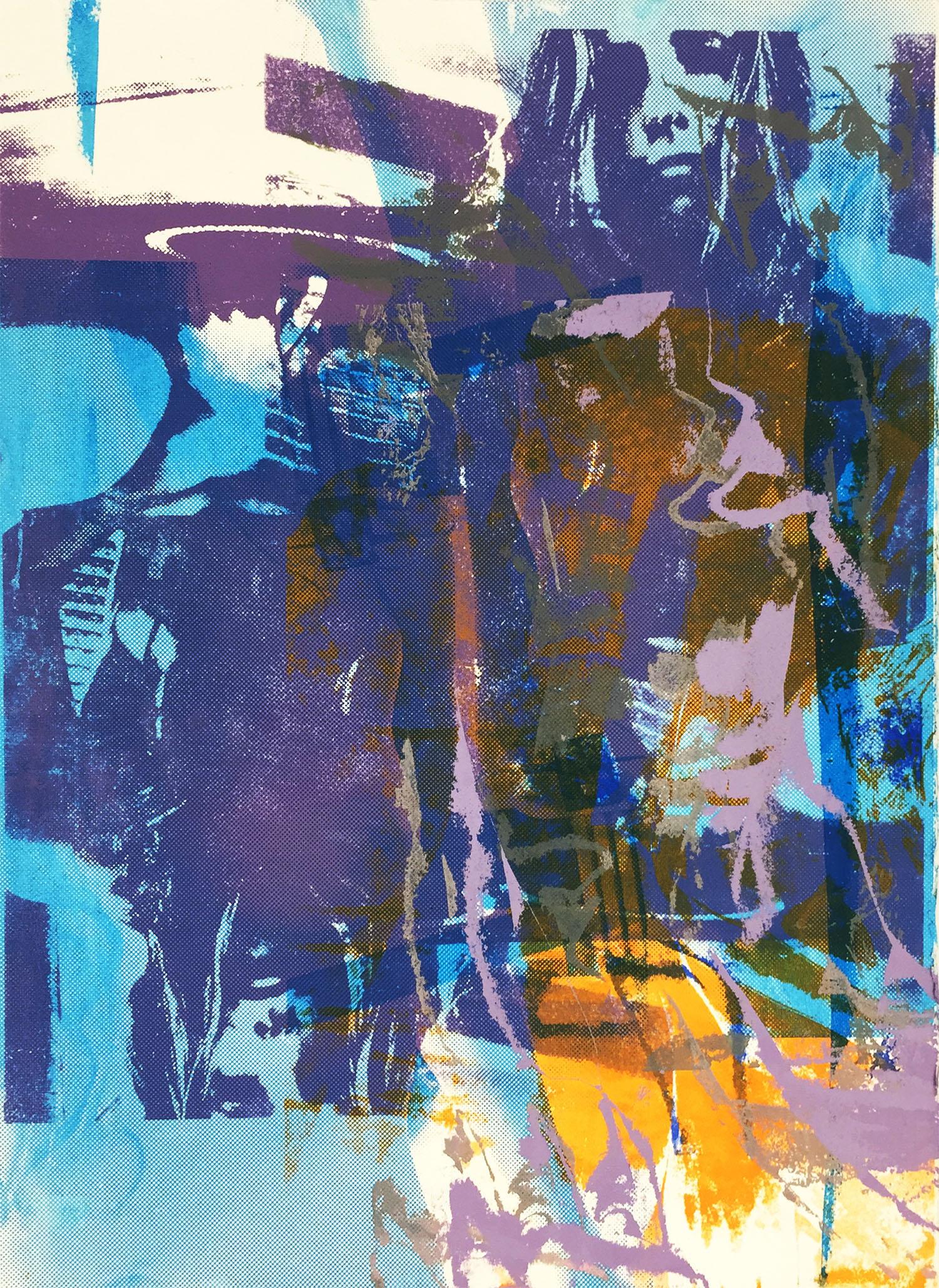 "Untitled Screenprint, 22x15"", 2015"