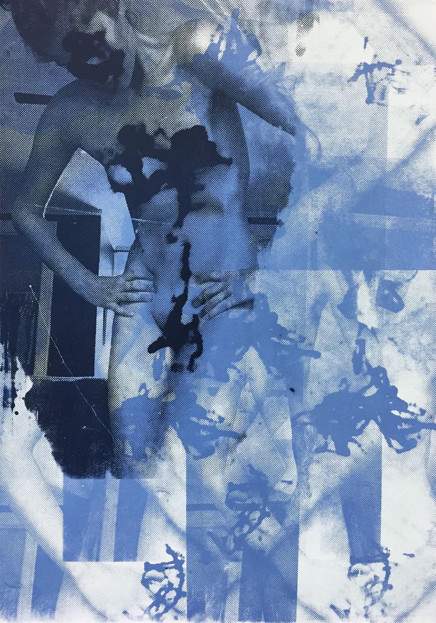 "Cold & Unresponsive S creenprint, 21x14.5"", 2015"