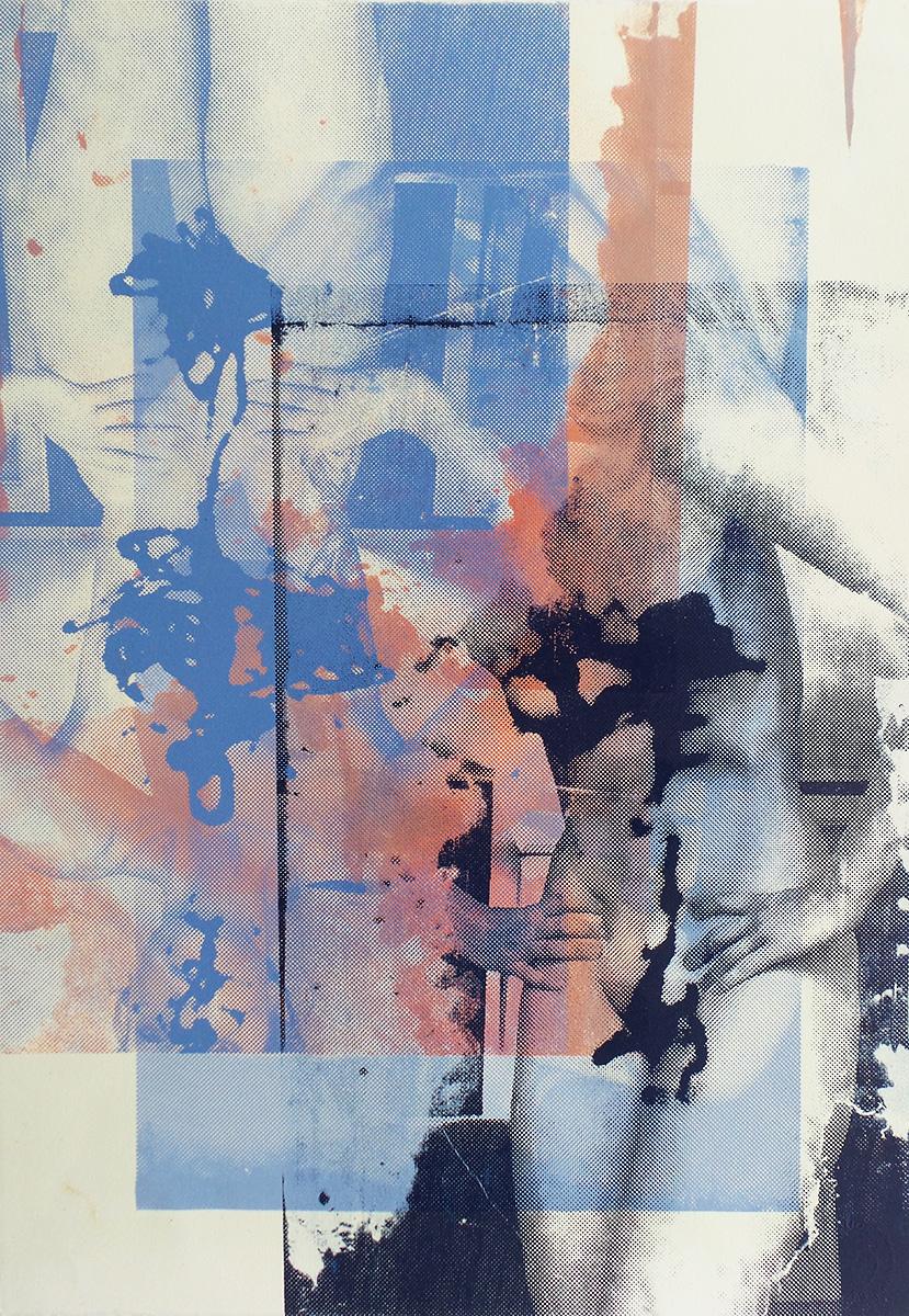 """Lemme See that Body  Screenprint ,  21x14"""", 2015"""