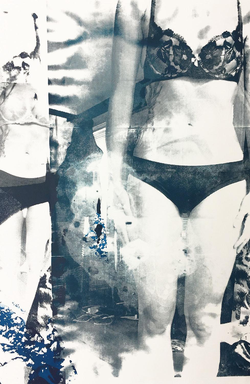 "Portrait VIII,  Screenprint, 30x20"", 2016"