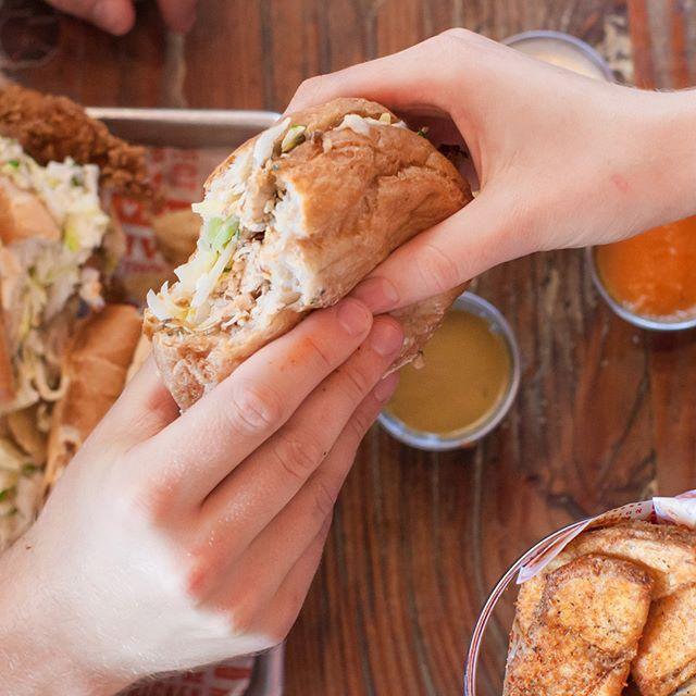 Did you know we also serve gluten free fried chicken and gluten free sandwiches? #propositionchicken