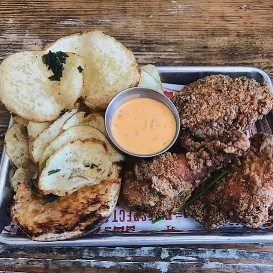 Gluten free fried chicken? Hell yeah. (📷: @mrsjordansandoval) #propositionchicken