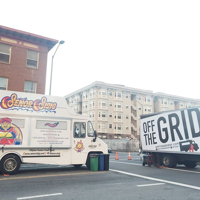 Where you at Oakland?! Getting started at Off The Grid Lake Merritt! We'll be here until 9pm...come through! #senorsisig