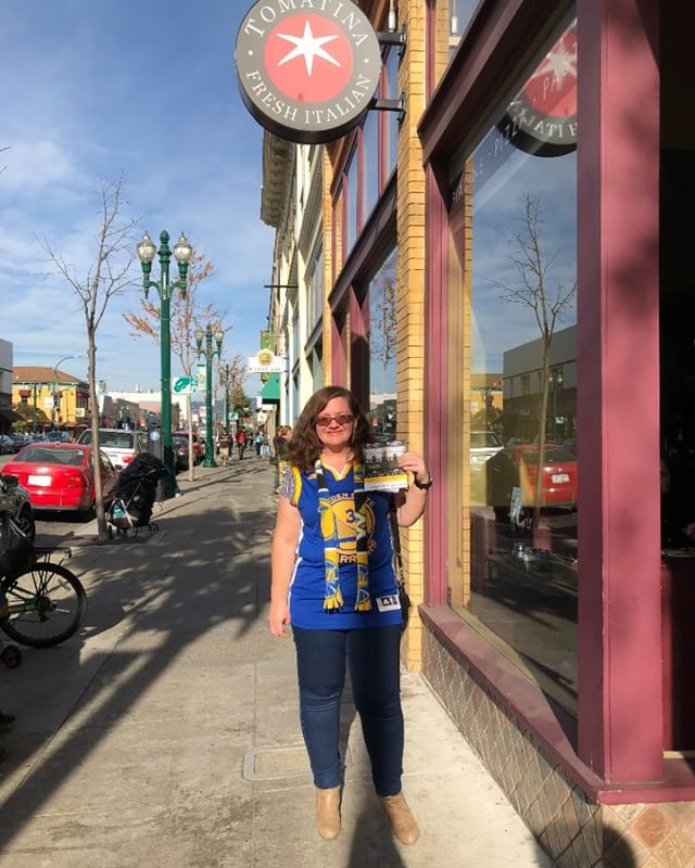 Congratulations to the winner of our Warriors Ticket Giveaway! We hope you enjoyed the game! #warriorsnation #goldenstatewarriors #tomatinadubs