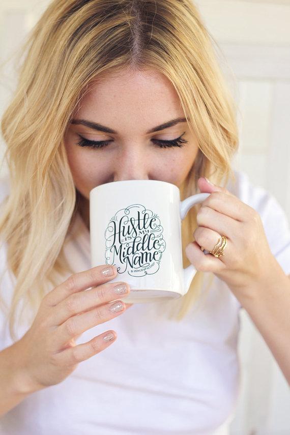 adventure knocks hustle mug holiday wish list gifts for entrepreneur women