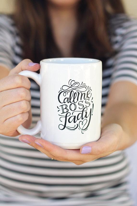 ultimate holiday wish list - bosslady mug for entrepreneurial women adventure knocks allison horner