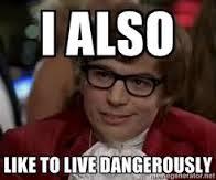 Austin Powers live dangerously holiday wish list allison horner adventure knocks