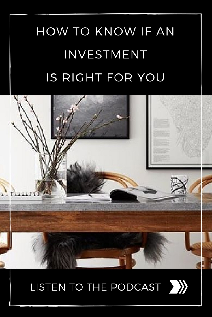 How to know if an investment is right for your business right now (on the Adventure Knocks podcast for thriving and courageous entrepreneurs) by Allison Horner, Business + LIfe SUccess Coach