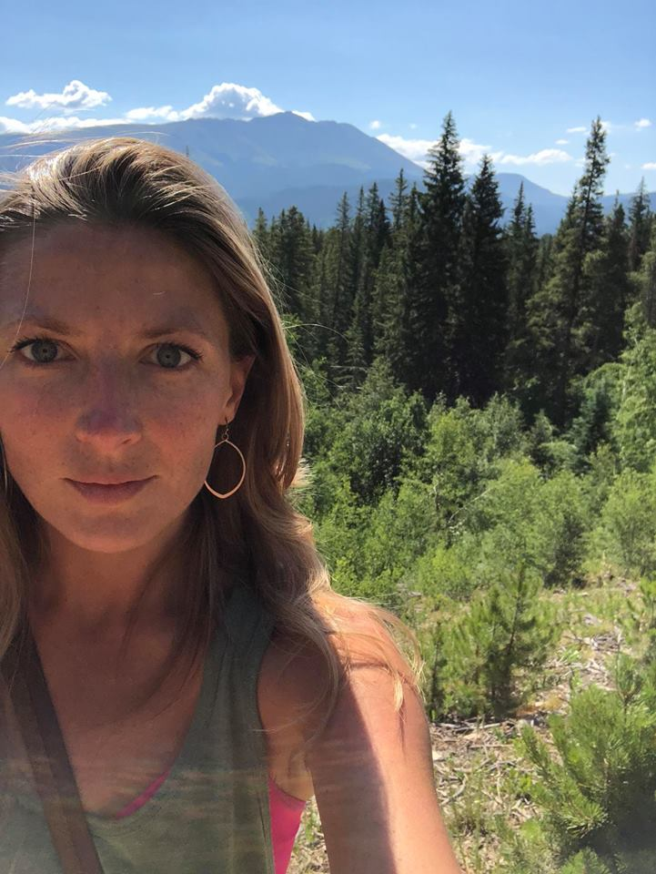 Allie Hiking in Breckenridge, Colorado