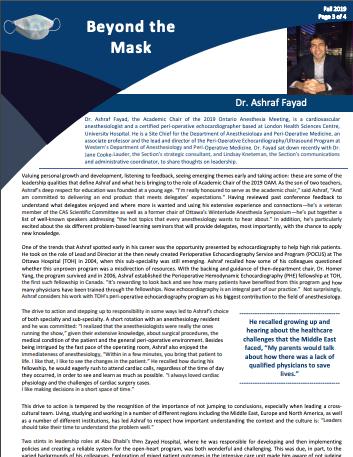 Dr. Ashraf Fayad - Fall 2019