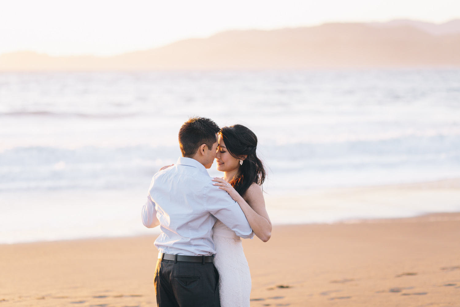 Engagement Session San Francisco Baker Beach Photos by Engagement and Wedding Photographer San Francisco JBJ Pictures-21.jpg