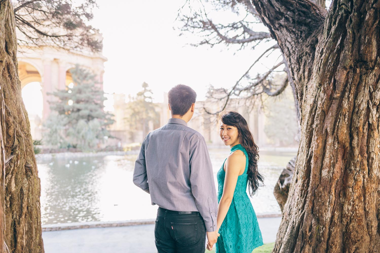 San Francisco Engagement Session Crissy Fields Palace of Fine Arts Engagement Photos by Engagement and Wedding Photographer JBJ Pictures-13.jpg