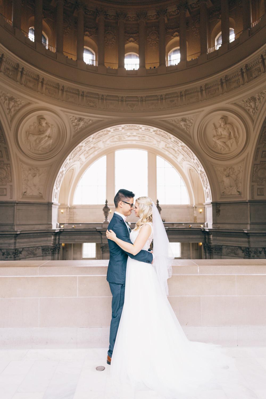 San Francisco City Hall Wedding - SF City Hall Photographer