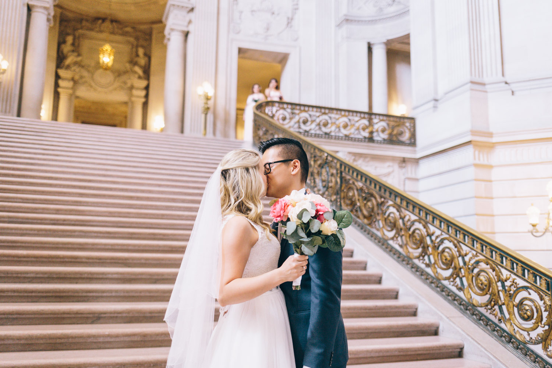 San Francisco City Hall Wedding Photos City Hall Wedding Photographer JBJ Pictures-5.jpg