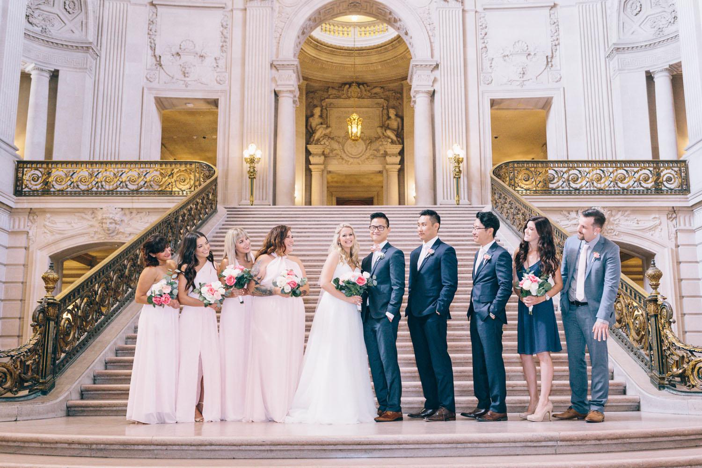 San Francisco City Hall Wedding Photos City Hall Wedding Photographer JBJ Pictures-9.jpg