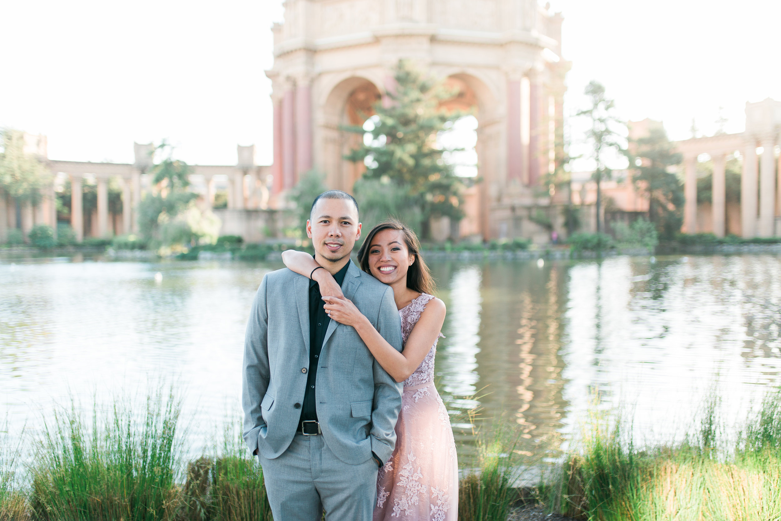 Palace of Fine Arts Engagement Photos - Lover's Lane San Francisco Engagement Session by JBJ Pictures Wedding Photographer in San Francisco (18).jpg